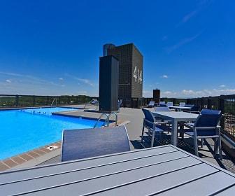 Pool, 414 Flats
