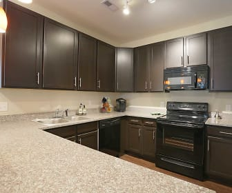 Kitchen, Oak Grove Crossing Luxury Apartment Homes