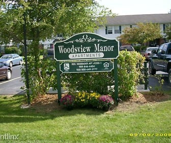 Community Signage, Woodsview Manor Apartments