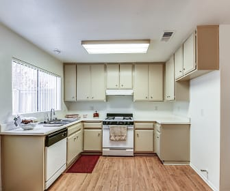 Kitchen, Park Place Townhomes
