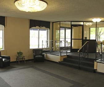 Interior-Foyer, Entryway, Carlyle Tower Apartment Homes
