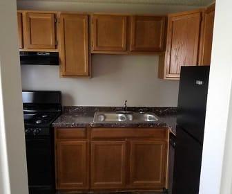 Kitchen, Plaza Hill Manor Apartments