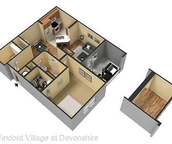 plan, Wexford Village at Devonshire