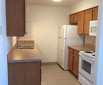 Kitchen, Village Place Apartments