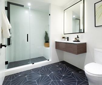 Bathroom, The Irvine Apartments