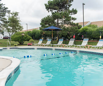Pool, Bass Point Apartments