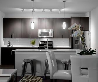 Kitchen, Woodview Apartments
