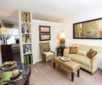 Living Room, Peppertree Apartments