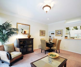 Living Room, The Villas At Brentwood