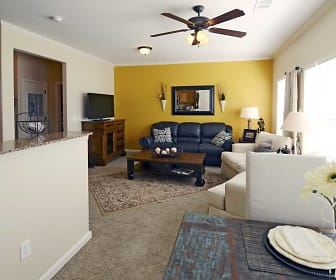 Living Room, The Orleans at Walnut Grove