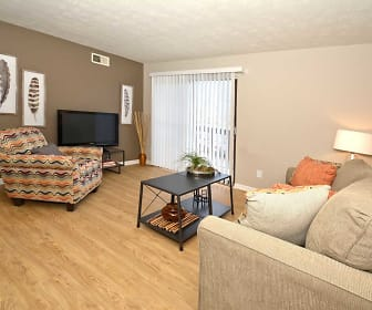 Living Room, Oakmont Flats