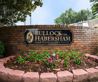 Community Signage, Bullock Habersham Apartments