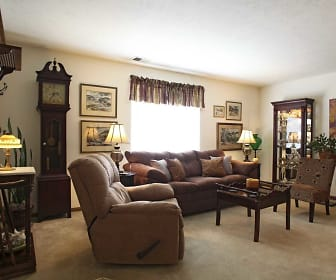 Living Room, Lakeview Apartments