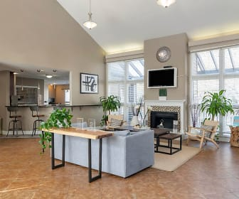 Clubhouse Interior, Landmark at Bella Vista Apartment Homes