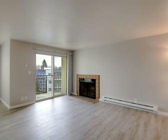 Living Room, Lawton Park Apartments