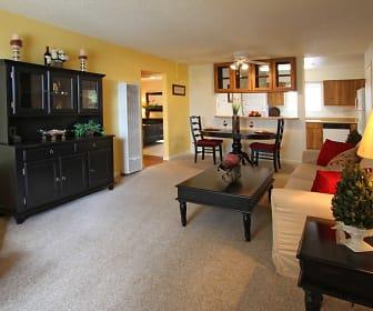 Living Room, Reno Vista Apartments