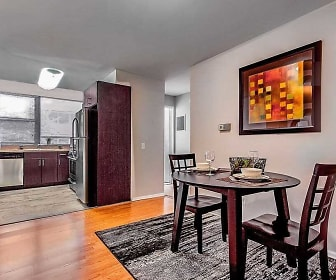 Dining Room, Cherokee Apartments At Chestnut Hill