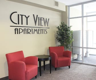 Lobby, City View Apartments