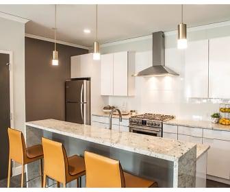 Kitchen, Nineteen North Apartments
