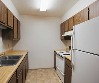Kitchen, Harrison Apartments