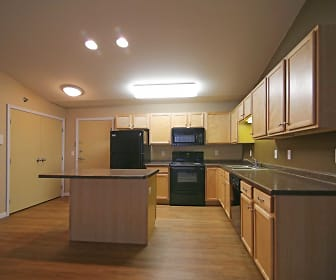 Kitchen, Minot Place Apartments