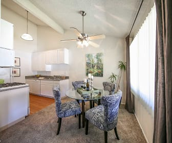 Dining Room, Oakview Apartments
