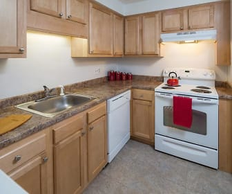Kitchen, Rivers Edge Apartments