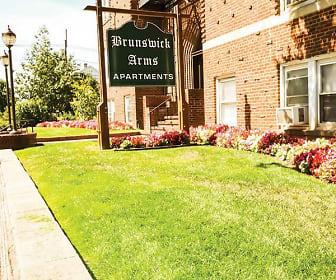 Community Signage, New Brunswick Arms Apartments