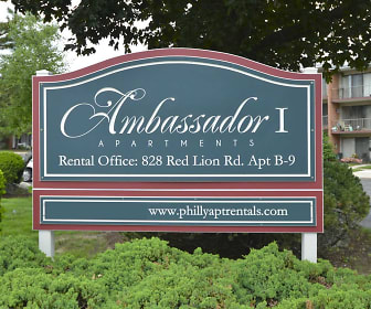 Community Signage, Ambassador Apartments