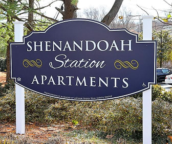Community Signage, Shenandoah Station in the Park