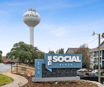 view of community / neighborhood sign, The Social Block