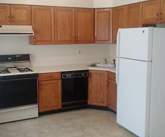 Kitchen, Victoria Village Apartments