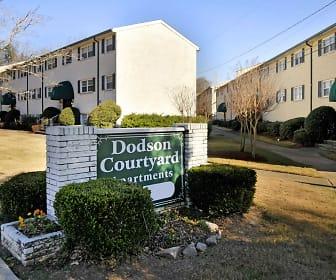 Dodson Courtyard, Atlanta Christian College, GA
