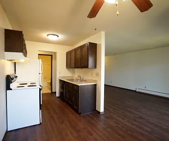 Kitchen, Charlton Place Apartments
