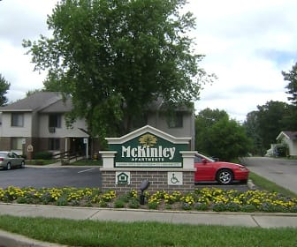 Community Signage, McKinley Apartments