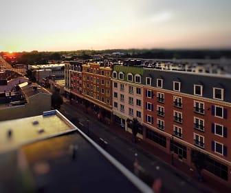 Building, Market Street Flats