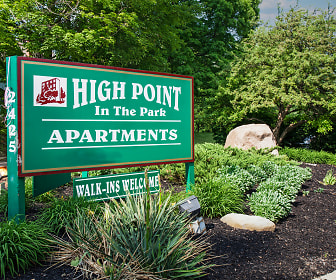 High Point In The Park Apartments, Crestwood Elementary School, Elyria, OH