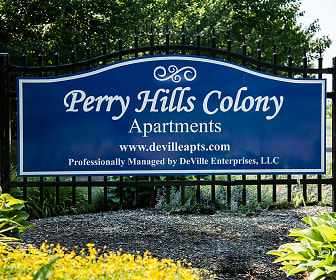 Community Signage, Perry Hills Colony Apartments
