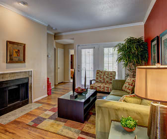 Living Room, Villas Of Josey Ranch