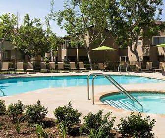 Pool, eaves Mission Viejo