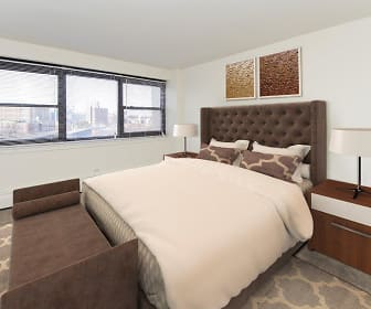 Bedroom, Riverside Towers Apartment Homes