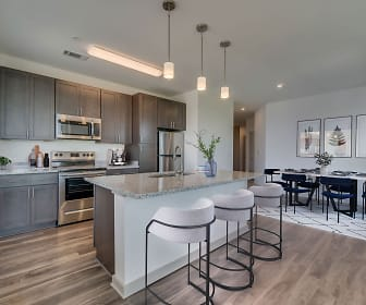 Kitchen, The Vue at Westchester Commons