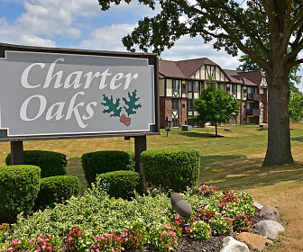 Community Signage, Charter Oaks Apartments