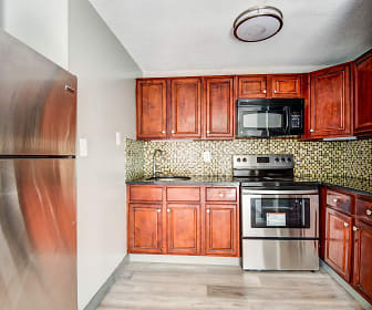 Kitchen, Candlewood Apartments