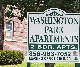 Building, Washington Park Apartments