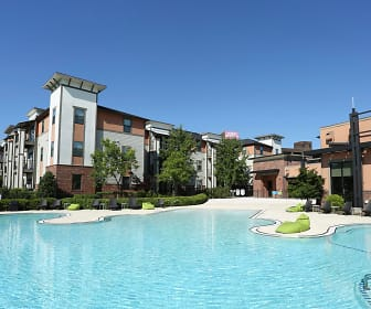 Pool, Bellamy Student Apartments at Louisville, The