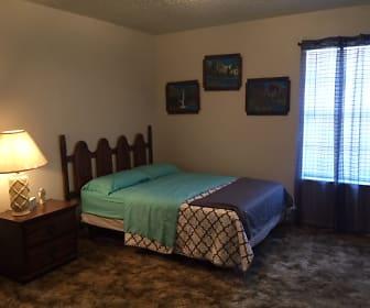 Bedroom, Whispering Oaks Apartments