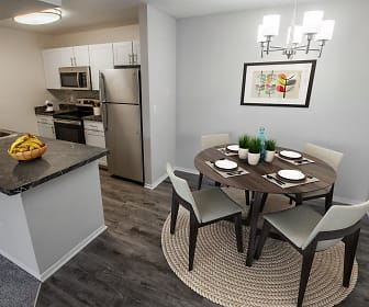 Dining Room, Apres Apartments