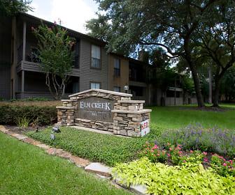 Community Signage, Elm Creek Apartments