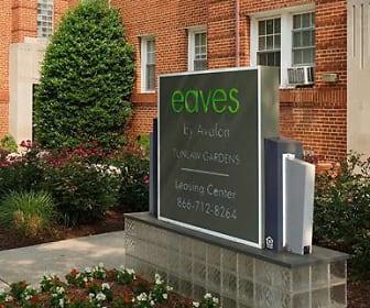Community Signage, eaves Tunlaw Gardens